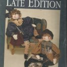 "Craft Pattern-Dream Spinners-Late Edition-27"" Boy & Girl Folk Dolls & Accessorie"