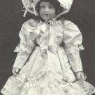 "Doll Dress Pattern-Michelle Dress-Slip-Bonnet-Dress-Pantaloons-Shoe for 24"" Doll"