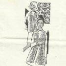 Vintage Crochet Pattern-Crocheted Coat or Vest- Design  701