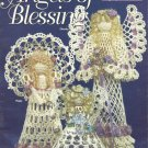 Crochet Pattern Booklet-Angels of Blessing-3 Delicate & Lacy Angels