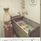 Vintage  Pattern-Gingham Goose-Diaper Stacker-Bear Toy-Mobile-Crib Gym-Quilt
