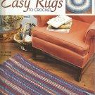 Crochet Rug Patterns-Easy Rugs To Crochet-Leisure Arts