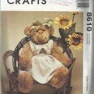 "Bear Doll Pattern-Little City Bears & Co.-20"" Honey Bear Doll & Clothes"