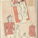 Vintage Classic Pattern-Misses Jacket Set-Unmarked Pre-cut Pattern Pieces-Sz 16