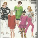Pattern-Easy Learn to Sew For Fun-Misses Tunic-Skirt-Leggings in Sizes 6-8-10