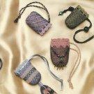 Crochet Pattern Booklet-Crocheted Beaded Bags-Too Cute!