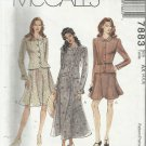 Pattern-Misses Top & Skirt in Three Lengths in Sizes 4-6-8   Easter