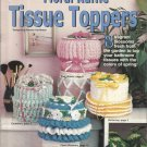 Crochet Pattern Booklet-Crochet Floral Ruffle Tissue Toppers-8 Designs