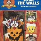 Plastic Canvas Pattern Booklet-Deck The Walls-Looney Tunes-4 Holiday Hangings
