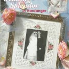 Cross Stitch Pattern Booklet-Wedding Splendor in Hardanger by Julia Lucas