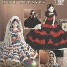 Crochet Pattern Booklet-Doll Dresses-Crochet Reversible Ruffles-Annie's Attic