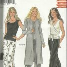 Pattern-New Look-Misses Tops-Pants-Skirt-Coat-Sz  6-16  For Stretch Knits Only