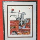 Cross Stitch Pattern Booklet-Our Friend The Fireman-Charted Designs