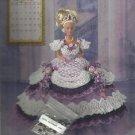 "Crochet Doll Dress Pattern-11 1/2"" Fashion Doll-Miss January 1997-Annie Potter"