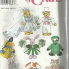 """Craft Pattern-Faith Van Zanten-Clothes For 8"""" To 9"""" Stuffed Or Beanbag Animals"""