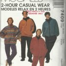 Pattern-Palmer Pletsch 2 Hour Casual Wear-Misses & Men's Jacket-Top-Pants-Sz Lg