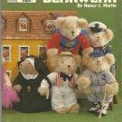 """BEARWEAR-Bear Doll Clothing Patterns-Fits 12"""" -16"""" Steiff Bears"""
