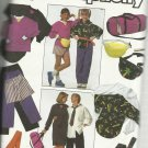 Simplicity Pattern-Misses-Men-Teen Boys & Girls-Pants-Shorts-Shirt-Top-Tie Gym Bag-XXSM-XL