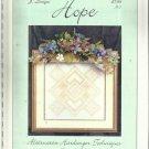 Cross Stitch Pattern-J Designs-HOPE-Alternative Hardanger Techniques
