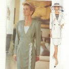 Pattern-The Vogue Woman-Very Easy Misses Dress-Top-Skirt-Sizes 14-16-18