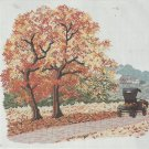 Cross Stitch Pattern-When Autumn Leaves Start To Fall-Art Ventures