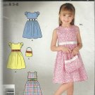 Pattern-It's So Easy Child's Dress & Purse-Sz 3-8    Summer