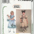 Simplicity Pattern-Sunrise Designs-Child's Dress & Purse-Sizes 5-6-6X
