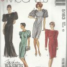 Easy McCall's Pattern-Fashion Basics-Misses Dress in Two Lengths-Size 10