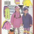 Very Easy Butterick Pattern-Girl's Tunic-Top-Skirt-Leggings & Headband Sz 6-7-8