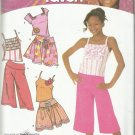 That's So Raven Pattern-Girl's Tops-Skirt-Knit Wide Leg Cropped Pants  Sz 8-16