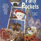 Plastic Canvas Pattern Booklet-Party Pockets-7 Designs-Santa-Reindeer-Pumpkin