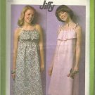 Vintage Simplicity Pattern-Misses JIFFY Pullover Sundress in Sizes 10-12