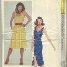 Very Easy Vogue Pattern-Misses Summer Dress-Size 14 -Stretchable  Knits Only-