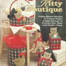 Plastic Canvas Pattern Booklet-Holiday Kitty Boutique-Tissue Cover & Roll Holder