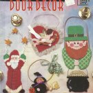 Plastic Canvas Pattern Booklet-Holiday Door Decor