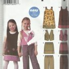 Simplicity Wrights Pattern-Easy To Sew-Child's Jumper-Vest-Pants-Skirt  Sz 3-8