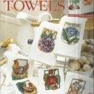 Cross Stitch Pattern Booklet-Terrific Towels by Barbara Baatz-Primrose-Chickens