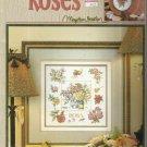 Cross Stitch Pattern Leaflet-Roses