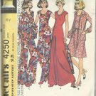 Vintage McCall's Carefree Pattern-Misses Dress-Top-Jacket-Pants-Sz 20 KNITS