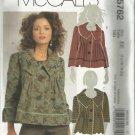 Plus Size McCall's Pattern-Misses Lined Jackets-Sizes 14-16-18-20 Uncut