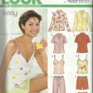 New Look Pattern-Misses Camisole Top, Jacket/Shirts, Pants & Shorts Sizes 8-18