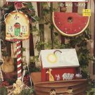 Tole Painting Instruction Pattern-Birdhouses-The Nesting Place-Christmas