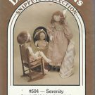 "Doll Pattern-Dream Spinners-27"" Serenity Doll & Clothes-Quilt  UNCUT"