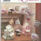 Simplicity Crafts Pattern #9687 Cat Tissue Covers-Shelf Cat-Hanging Cat