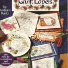Iron On Transfers for Quilt Labels by Barbara Baatz-With Hints For Personalizing