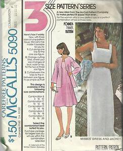 Vintage Plus Size Pattern-3 Pattern Series-Misses Dress & Jacket-Size 16-18-20