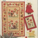 Pattern Book-Felines & Feathered Friends-Taylor Made-Cats & Birds Dolls-Quilts-