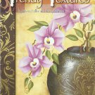 Decorative & Tole Painting Instruction Booklet-Trendy Textures-Keller & Moreau