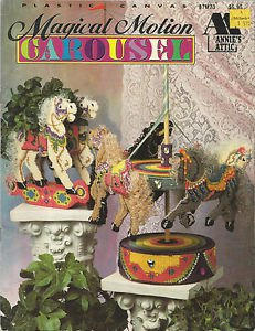 Plastic Canvas Pattern Booklet-Magical Motion Carousel
