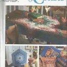 Craft Pattern-Shirley Botsford-Yo Yo Pillows-Tabletopper-Tea Cozy-Place Mat-Napk